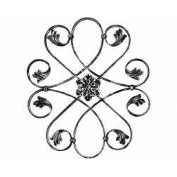 Ornament central din fier forjat H-03-250x250